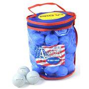 BALLE DE GOLF  Lot de 50 Balles de Golf Titleist Pro V1X - Blanc