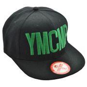 Casquette YMCMB officiel noire avec logo vert