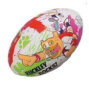 BALLON DE RUGBY  Ballon de rugby MASCOTTES - RUCKLEY - Taille Mini