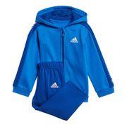 Survêtement adidas Linear Hooded Fleece bleu enfant
