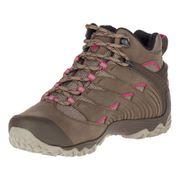 Chaussures de marche Merrell Chameleon 7 MID GTX marron rose femme