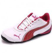 Chaussures Drift Cat 3 Glitter Blanc Fille Puma