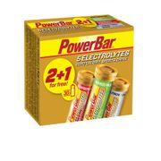PowerBar 5 Electrolytes Multipack (8 packs of 2+1 X10 tabs)- Mango + Raspberry + Lemon