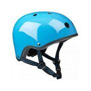 Casque Vélo et Trottinette Neon Bleu Brillant Medium