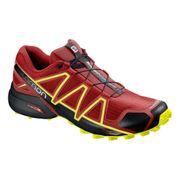 Chaussures Salomon Speedcross 4 rouge noir jaune