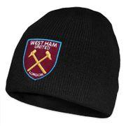 West Ham United FC officiel - Bonnet en tricot pour enfant - thème football - avec blason
