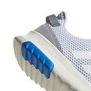 Chaussures adidas neo Cloudfoam Racer TR blanc bleu