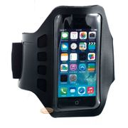 Brassard de sport iPhone 5S ultra confortable neoprène noir