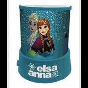 Lampe, Veilleuse Projecteur La Reine Des neiges avec d'étoiles - unique bleu