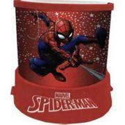 Lampe, Veilleuse Projecteur d'étoiles du héros Spiderman - unique rouge