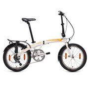 Vélo-Pliant MU D10 Blanc