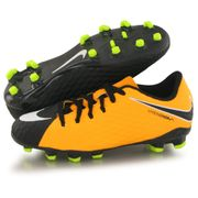 Nike Hypervenom Phelon Iii Fg orange, chaussures de football enfant