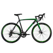 Vélo de course 28'' Xceed Gravel bike noir TC 58 cm KS Cycling
