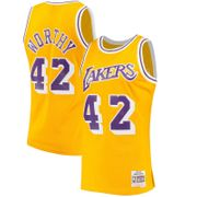 Maillot NBA swingman James Worthy Los Angeles Lakers Hardwood Classics 1984-85 Mitchell & ness jaune Taille - L