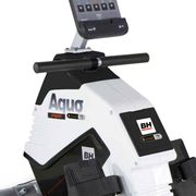 i Aquo Dual R309UW - Rameur magnétique avec roue d'inertie de 5 5 Kg - Tirage central