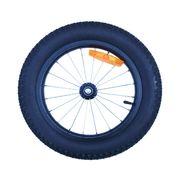 Roue rayonnées avec pneus 16'' Fat Bike pour remorque vélo
