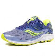 Ride 10 Femme Chaussures Running Bleu Jaune Saucony