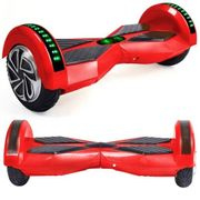 Hoverboard 8 Pouces Rouge Bluetooth+ sac de transport
