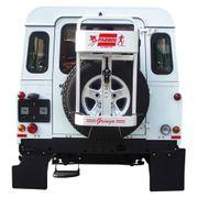 Porte-skis TowCar Gringo sur roue 4x4
