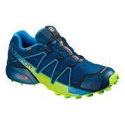 Chaussures Salomon Speedcross 4 GTX bleu jaune