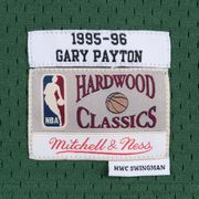 Maillot NBA Gary Payton Seattle Supersonics 1995-96 Mitchell & ness Hardwood Classic Swingman vert taille - L