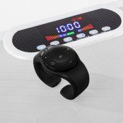 Home Vibration Plate 900 Plus - Plateforme vibrante oscillante - 5 Prog. - 2 Moteurs - Blanc