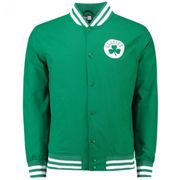 Bomber NBA Boston Celtics New Era Varsity pop Logo Vert pour Homme taille - S