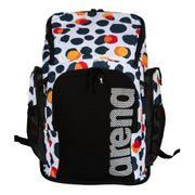 Sac à dos Arena Team Backpack Allover 45L blanc bleu orange
