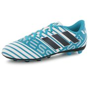 Adidas Performance Nemeziz Messi 17.4 Fg bleu, chaussures de football enfant
