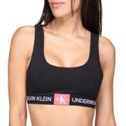 Brassiere femme Calvin Klein Qf4918e Unlined Bralette Ae8 Black/aurelie