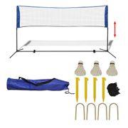 Filets de badminton Contemporain Filet de badminton avec volants 300 x 155 cm
