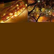 Lumiére décorative-17mIP44Imperméableàl'eauPanneauSolaireFéedelaLampe,100LeddeVacancesLumièreDécorative