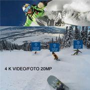 Caméra de sport- S300 Hi3559V100 + Sony IMX377 Ultra HD 4K EIE WiFi Caméra d'Action, de 2,35 pouces TFT Écran, 170 Degrés grand Angle, le