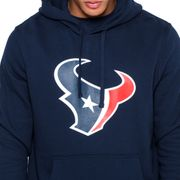 Sweat à capuche New Era avec logo de l'équipe Houston Texans