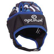 Optimum Razor Rugby Headguard Scrum Cap Black/Blue