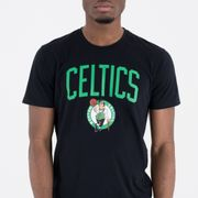 T-shirt New Era logo Boston Celtics