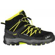 CMP - Rigel Mid WP chaussures de trekking pour enfants (noir/jaune)