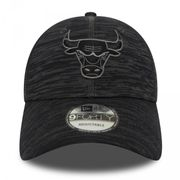 Casquette NBA Chicago Bulls New Era Engineered Fit 9Forty Noir