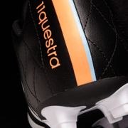 adidas 11Questra FG Football Boots (Black-White-Orange)