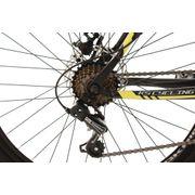 VTT semi-rigide 26'' Sharp noir-jaune TC 51 cm KS Cycling