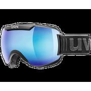 Uvex Downhill 2000 FM Black Mat Blue Mirror Clear