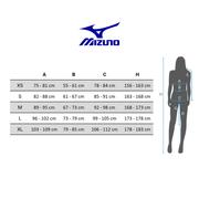 Short Mizuno Mujin 4.5 2 en 1 Short noir bleu femme
