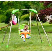 Balançoires et portiques Joli TRIGANO Balançoire pliable de bébé Tatou Funny 118x142x124cm J-10180P8