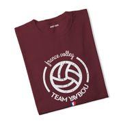 T-shirt France volley Yavbou ball