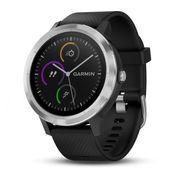 Garmin - V�voactive�3 Unisex Montre intelligente (noir/argent)