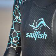 Combinaison néoprène Sailfish One noir bleu femme