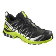 Chaussures Salomon XA PRO 3D GTX noir blanc vert