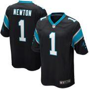 Maillot NFL Cam Newton Carolina Panthers Nike Game Team pour junior Noir taille - L (155-165cm)