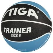BALLON DE BASKET-BALL  Ballon de basket-ball Trainer - Bleu et noir - Taille 5