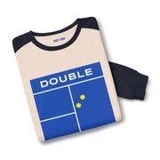 Sweatshirt bicolore Double faute